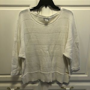 Liz Claiborne white sweater XL